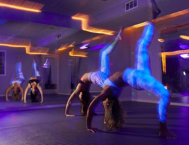 blacklight yoga